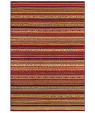 RugStudio presents Couristan Cadence Adiago Ruby/Cream Machine Woven, Better Quality Area Rug