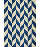 RugStudio presents Couristan Covington Herringbone Navy/Ivory Area Rug
