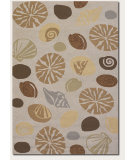 RugStudio presents Couristan Outdoor Escape Barnegat Bay Sand Hand-Hooked Area Rug