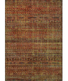 RugStudio presents Couristan Cadence Baritone Ruby/Ivory Machine Woven, Better Quality Area Rug