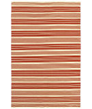 RugStudio presents Couristan Grand Cayman Batabano Terracotta/Ivory Woven Area Rug