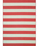 RugStudio presents Couristan Afuera Yacht Club Pumpkin/Ivory Machine Woven, Good Quality Area Rug