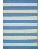 RugStudio presents Couristan Afuera Yacht Club Cornflower/Ivory Machine Woven, Good Quality Area Rug