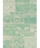 RugStudio presents Couristan Afuera Country Cottage Sea Mist/Ivory Machine Woven, Good Quality Area Rug