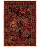 RugStudio presents Couristan Kashimar Ardibel Panel Antq Red/Multi Machine Woven, Good Quality Area Rug
