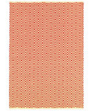 RugStudio presents Couristan Grand Cayman George Town Ivory/Terracotta Woven Area Rug