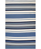 RugStudio presents Couristan Grand Cayman Catamaran Ocean Blue/Ivory Woven Area Rug