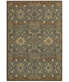 RugStudio presents Couristan Alameda Dahlia Brown/Teal Machine Woven, Good Quality Area Rug