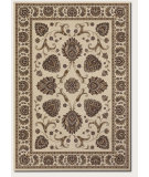RugStudio presents Couristan Everest Leila Ivory Machine Woven, Better Quality Area Rug