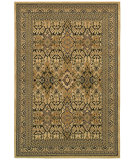 RugStudio presents Couristan Alameda Santa Rosa Beige/Black Machine Woven, Good Quality Area Rug