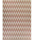 RugStudio presents Couristan Monaco Avila Coral/Ivry/Pewtr Area Rug