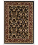 RugStudio presents Couristan Himalaya Isfahan Ebony/Persianred Machine Woven, Good Quality Area Rug