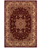 RugStudio presents Couristan Himalaya Annapurna Ant Crem/Per Red Woven Area Rug