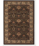 RugStudio presents Couristan Everest Herati Palm Chocolate Machine Woven, Better Quality Area Rug