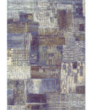 RugStudio presents Couristan Easton Abstract Mural Antique Cream Area Rug