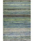 RugStudio presents Couristan Easton Vibrato Tan/Teal Machine Woven, Good Quality Area Rug