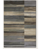 RugStudio presents Couristan Easton Synchrony Tan/Teal Machine Woven, Good Quality Area Rug