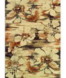 RugStudio presents Couristan Easton Mosaic Florals Multi Woven Area Rug