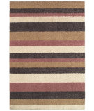 RugStudio presents Couristan Moonwalk Celestialstripe Cream/Cameo Rose Area Rug