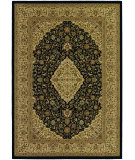 RugStudio presents Couristan Izmir All Over Heriz Black Machine Woven, Good Quality Area Rug