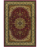 RugStudio presents Couristan Izmir Royal Kashan Red Machine Woven, Good Quality Area Rug