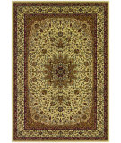 RugStudio presents Couristan Izmir Royal Kashan Ivory Machine Woven, Good Quality Area Rug