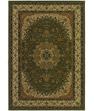 RugStudio presents Couristan Izmir Royal Kashan Green Machine Woven, Good Quality Area Rug