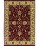RugStudio presents Couristan Izmir Floral Bijar Red Machine Woven, Good Quality Area Rug