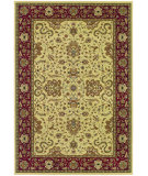 RugStudio presents Couristan Izmir Floral Bijar Ivory Machine Woven, Good Quality Area Rug