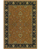 RugStudio presents Couristan Izmir Floral Bijar Gold Machine Woven, Good Quality Area Rug