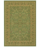 RugStudio presents Couristan Izmir Floral Mashhad 7018-0007 Sage Machine Woven, Good Quality Area Rug