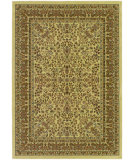 RugStudio presents Couristan Izmir Floral Mashhad Ivory Machine Woven, Good Quality Area Rug