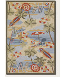 RugStudio presents Couristan Outdoor Escape Cocoa Beach Sand Hand-Hooked Area Rug