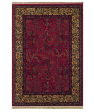 RugStudio presents Couristan Kashimar Tree Of Life Bordeaux Machine Woven, Good Quality Area Rug
