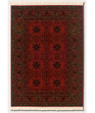 RugStudio presents Couristan Kashimar Afghan Nomad Red Machine Woven, Good Quality Area Rug