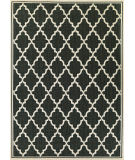 RugStudio presents Couristan Monaco Ocean Port Black/Sand Flat-Woven Area Rug