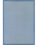 RugStudio presents Couristan Monaco Sea Pier Sand/Azure Flat-Woven Area Rug