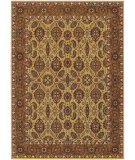 RugStudio presents Couristan Royal Kashimar A/O Vase Hazelnut Machine Woven, Best Quality Area Rug
