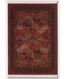 RugStudio presents Couristan Kashimar Imperial Bakti Antique Red Machine Woven, Good Quality Area Rug