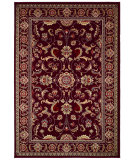 RugStudio presents Couristan Odessa Capulet Red/Ivory Machine Woven, Good Quality Area Rug