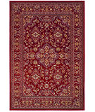 RugStudio presents Couristan Odessa Dorset Red/Ivory Machine Woven, Good Quality Area Rug