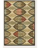 RugStudio presents Couristan Kenya Palmetto Ivory 8208-0749 Hand-Tufted, Better Quality Area Rug
