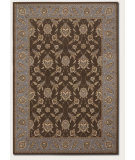 RugStudio presents Couristan Palladino Sorano Chocolate Machine Woven, Better Quality Area Rug