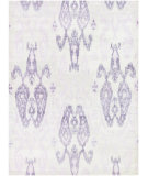 RugStudio presents Couristan Sagano Zodiac Ivory/Lilac Hand-Knotted, Better Quality Area Rug