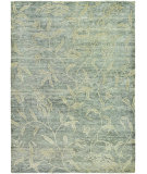 RugStudio presents Couristan Sagano Keiko Grey/Cream Hand-Knotted, Better Quality Area Rug