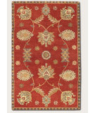 RugStudio presents Couristan Dynasty All Over Perisn Vine Red 9103-0104 Hand-Tufted, Better Quality Area Rug