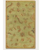 RugStudio presents Couristan Dynasty Persian Garland Sage/Multi Hand-Tufted, Good Quality Area Rug