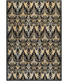 RugStudio presents Couristan Everest Zion Black/Teal Woven Area Rug