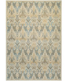 RugStudio presents Couristan Everest Zion Desert Sand/Teal Area Rug