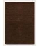 RugStudio presents Couristan Vinyasa Halcyon Chocolate 9666-0411 Hand-Tufted, Better Quality Area Rug